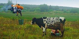 Rus Köy Yaşamı ile Fütüristtik Teknolojileri Bir Araya Getiren 'Cyberpunk Çiftliği' Videosu Viral Oldu