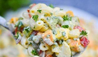 Garnitürlü Makarna Salatası Tarifi: Hem Pratik Hem Lezzetli Garnitürlü Makarna Salatası Nasıl Yapılır?