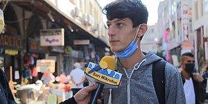 'Bize Bir Atatürk Sözü Söyler misiniz?' Sorusuna 'Ordular İleri, Kara Göründü' Diyen Genç