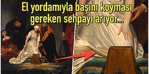 Sadece 9 Günlüğüne Tahta Çıkabilen ve 16'sını Dahi Göremeden Boynu Vurulan Kraliçenin Tablosu: Leydi Jane Grey'in İdamı