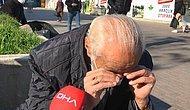Karantinada Olan Oğluna Ekmek Götüren Vatandaş, Tedbirlere Uyulmadığını Görünce Ağladı