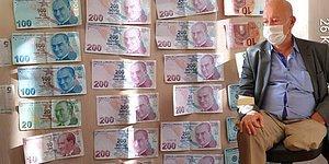 Otomobiliyle Geldi, Koltuk Değneğini Takıp Dilencilik Yaptı: Üzerinden 7 Bin Lira Çıktı...