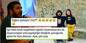 Engelli Sporcu Celal Karadoğan'ın Oğluyla Paylaştığı Fotoğrafa Gelen Skandal Yorum Tepkilerin Odağında