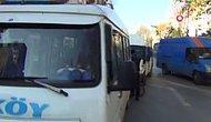 Karantinada Olması Gerekiyordu: Kovid Pozitif Olan Minibüs Sürücüsünü Direksiyon Başında Yakalandı