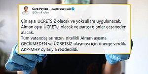 'Çin Yerine Nitelikli Alman Aşısı Ücretsiz Olsun' Önergesi AKP ve MHP Tarafından Reddedildi