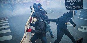 Fransa'da Ortalık Karıştı: Polis Şiddetine Karşı Düzenlenen Protestolarda Polis ile Göstericiler Arasında Çatışma Çıktı