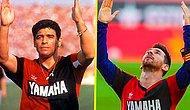 Messi, Maradona'nın Attığı Golün Aynısını Attı ve Formasının Altındaki Maradona'nın Yıllar Önce Giydiği Newell's Old Boys Formasını Gösterdi