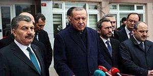 Erdoğan ve Koca Hakkında 'Vaka Sayılarını Sakladıkları' Gerekçesiyle Suç Duyurusu