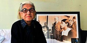 Atatürk'le Çekilen Fotoğrafı Hafızalara Kazınan Remziye Tatlı Hayatını Kaybetti