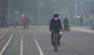 Hava Kirliliği Üst Seviyede: Düzce'de Halk Nefes Almakta Zorlanıyor