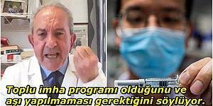 Koronavirüs Aşısının İnsanları Kısırlaştıran Bir Nüfus Azaltma Projesi Olduğunu Öne Süren Profesör: Dr. Roberto Petrella