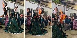 Güzel Yurdumuzdan İlginç Bir Düğün Geleneği: 'Kına Gecesinde Kaynana Donu Yakma Adeti'