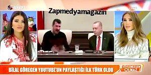 Bilal Göregen'in Cumhurbaşkanı Erdoğan ile Montaj Videosunu Gerçek Sanan Seren Serengil ve Bircan Bali'nin Beyin Yakan Yorumları