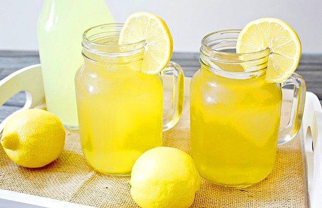 8. Limonata Tarifi:
