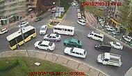 Ambulansa Yol Vermek İçin Trafik Akışını Kesen Otobüs Şoförü