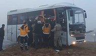 Konya'da Askeri Servis Aracı, Tır'la Çarpıştı: 10 Yaralı