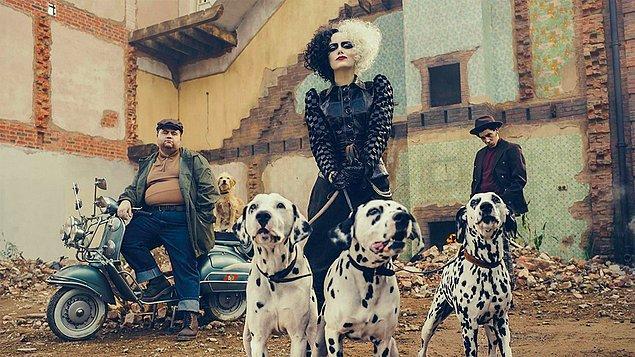14. Emma Stone'un başrolde yer aldığı Cruella filmi önümüzdeki yıl vizyona girecek.