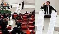 CHP'li Vekil, 'İşte AKP'nin 18 Yılda Sattıkları' Diyerek 13 Metrelik Liste Açtı