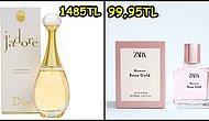 Uygun Fiyatlar ve Nefis Kokularıyla Zara'da Satılan Parfümler Aslında Hangi Parfümlerin Muadili?