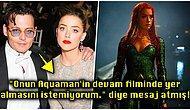 Ortalık İyice Karıştı! Johnny Depp'in Eski Eşi Amber Heard'ü Aquaman'den Çıkarttırmaya Çalıştığı Ortaya Çıktı