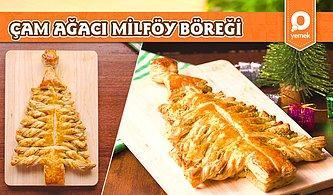 Yılbaşı Akşamı Şipşak Hazırlamalık Lezzetli Bir Önerimiz Var! Çam Ağacı Şeklinde Milföy Böreği Nasıl Yapılır?