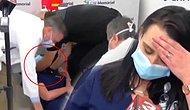 Gönüllü Olarak BioNTech/Pfizer Aşısını Olan Hemşire 15 Dakika Sonra Yaptığı Röportaj Sırasında Bayıldı