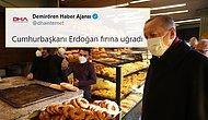 Ajansların Geçtiği 'Erdoğan Fırına Uğradı' Haberine Sosyal Medyadan Tepkiler