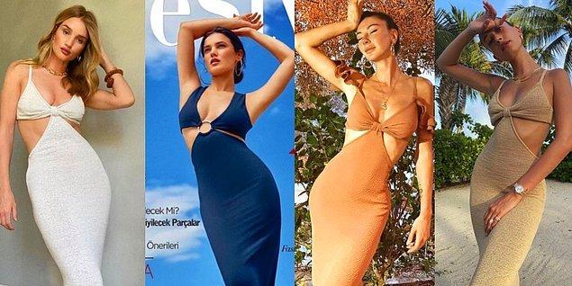 13. Cult Gaia markasının Serita isimli elbisesi 2020'ye damga vurdu.