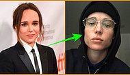 """Ünlü Oyuncu Ellen Page Cinsiyet Değiştirdikten Sonra İlk Fotoğrafını Paylaştı: """"Saklanmaktan yoruldum!"""""""