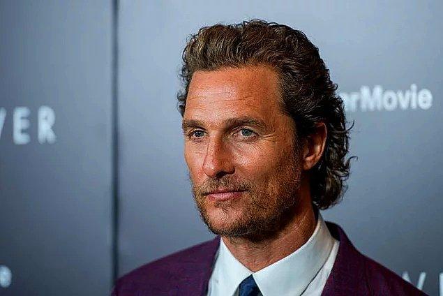 49. Matthew McConaughey'nin döner kapı fobisi var.
