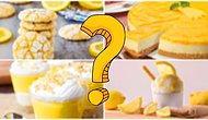 Bu Akşam Yiyeceğin Limonlu Tatlı Tarifi Hangisi?