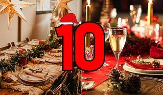 Sevgilin İçin Bir Yılbaşı Masası Hazırla, 10 Üzerinden Puanlayalım!