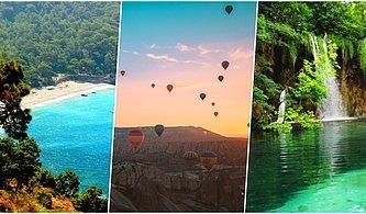 Ülkemizin Mutlaka Görülmesi Gereken Cennet Köşelerinden Hangisine Gitmelisin?