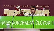 Hatay Milletvekili Topal, Meclis'e Tabutla Geldi: 'Can Kayıplarında Yüzde 400 Artış Var'