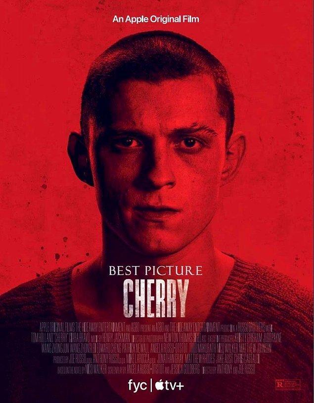 16. Tom Holland'ın travma sonrası stres bozukluğu yaşayan bir askere hayat verdiği Cherry'den yeni bir poster paylaşıldı.