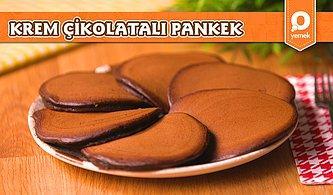 Kahvaltı Sofralarının Vazgeçilmez Tarifi Krem Çikolatalı Pankek Nasıl Yapılır?
