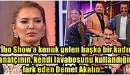 Demet Akalın, İbo Show'a Konuk Gelen Ünlü Kadınlardan Birinin Tuvaletini Pislettiğini Söyleyince Ortalık Karıştı