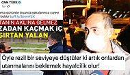 CNN Türk Sokağa Çıkma Yasağını İhlal Ettiği İçin Ceza Kesilen Evsiz Vatandaşa 'Yalancı' Dedi
