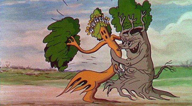 7. İlk renkli animasyon filmi