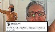 Twitter'dan Yanlışlıkla Yarı Çıplak Fotoğraf Paylaşan Zülfü Livaneli Goygoycuların Diline Dolandı