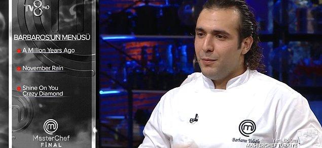 İkinci turda dünya mutfağından yemekler yapan yarışmacılar yine kendi seçtikleri menüleri belirlediler.