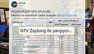 NTV'nin Maaş Tablosuna Öğretmen ve Hemşirelerden Tepki: 'İlla Bordromuzu mu Atalım?'