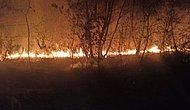 Fetö'nün Kilit İsmi Adil Öksüz Soruşturmasında Kazı Yapılan Alanda Yangın