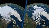 NASA'nın Paylaştığı Görüntüler Korku Yarattı: İşte Kuzey Kutbu'ndaki Son Durum