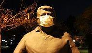 Partililer Özür Bekliyor: Turgut Özal'ın Heykeline Maske Takıldı