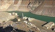 Baraj Suları Çekildi, Köy Ortaya Çıktı