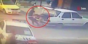 Darp Ettikleri Kişiyi Aracın Bagajından Çıkarıp Yola Atmak İsterken Polise Yakalandılar