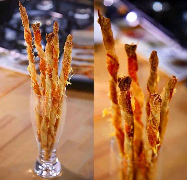 8. Parmesanlı Milföy