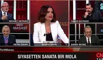 CNN Türk'te Siyasetten Sıkılan Yorumcular Türk Sanat Müziği Söyledi