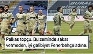 Kötü Zeminin Tepki Çektiği Maçta Fenerbahçe, Erzurumspor'u Rahat Geçerek Zirveye Ortak Oldu